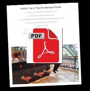 Kraig's Top 10 Tips for Opening a Kiosk